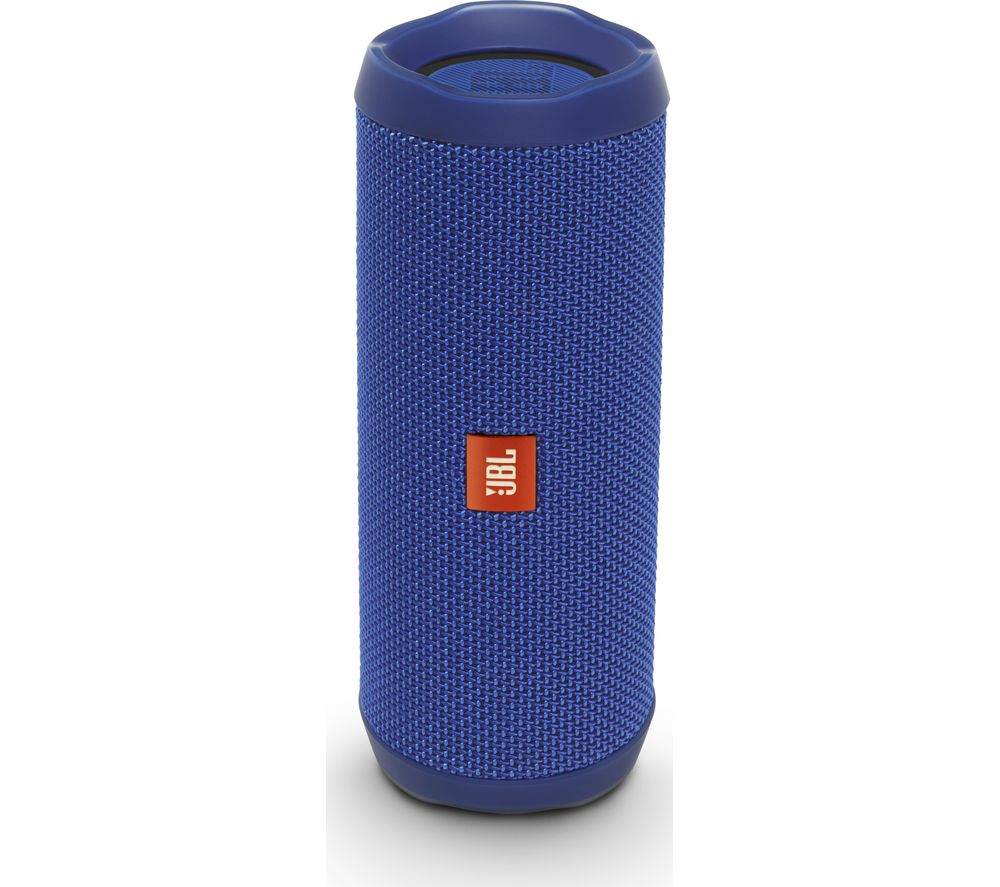 JBL Flip 4 Portable Bluetooth Wireless Speaker - Blue