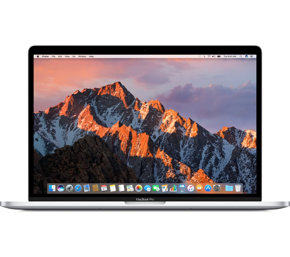 """APPLE MacBook Pro 15"""" with Touch Bar - Silver (2017) + LiveSafe Unlimited 2017 - 1 year"""