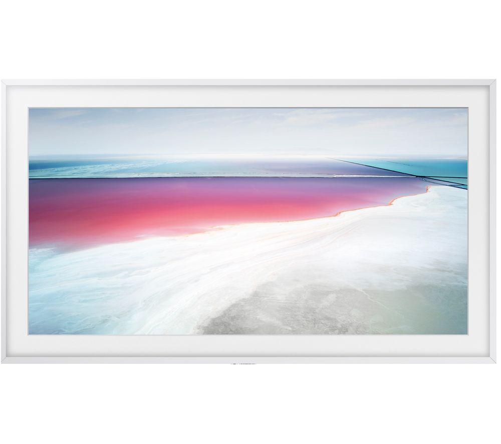 """SAMSUNG The Frame Art Mode UE55LS003 55"""" Smart 4K Ultra HD HDR LED TV & White Bezel"""