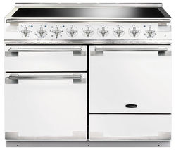 RANGEMASTER Elise 110 Electric Induction Range Cooker - White & Chrome