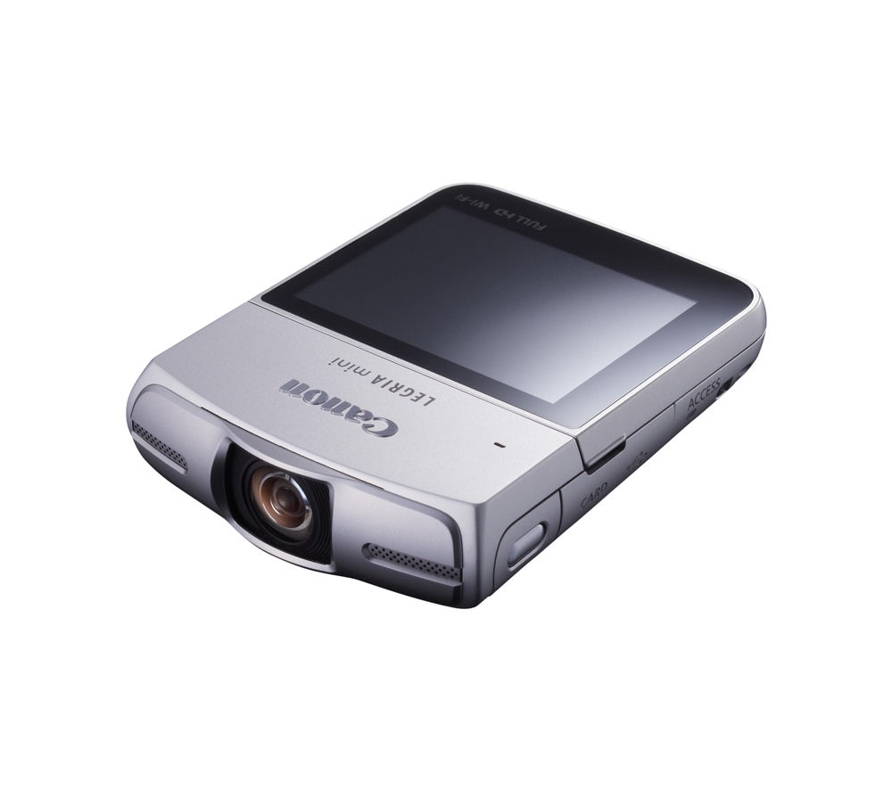 CANON LEGRIA Mini Full HD Camcorder - Silver