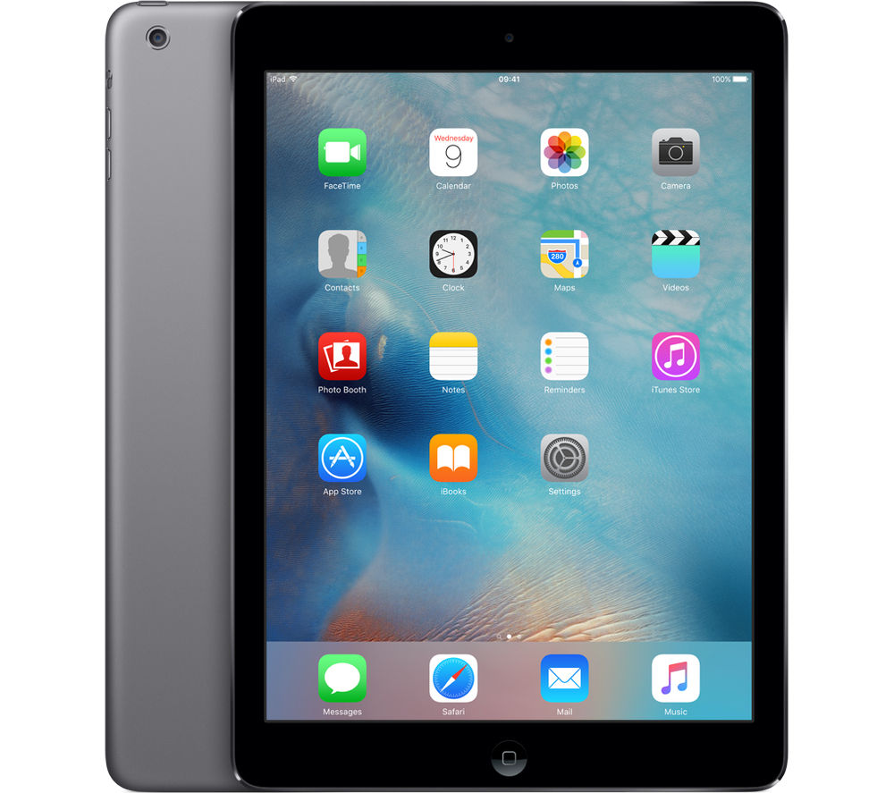 APPLE iPad Air 1  16 GB, Space Grey Deals | PC World