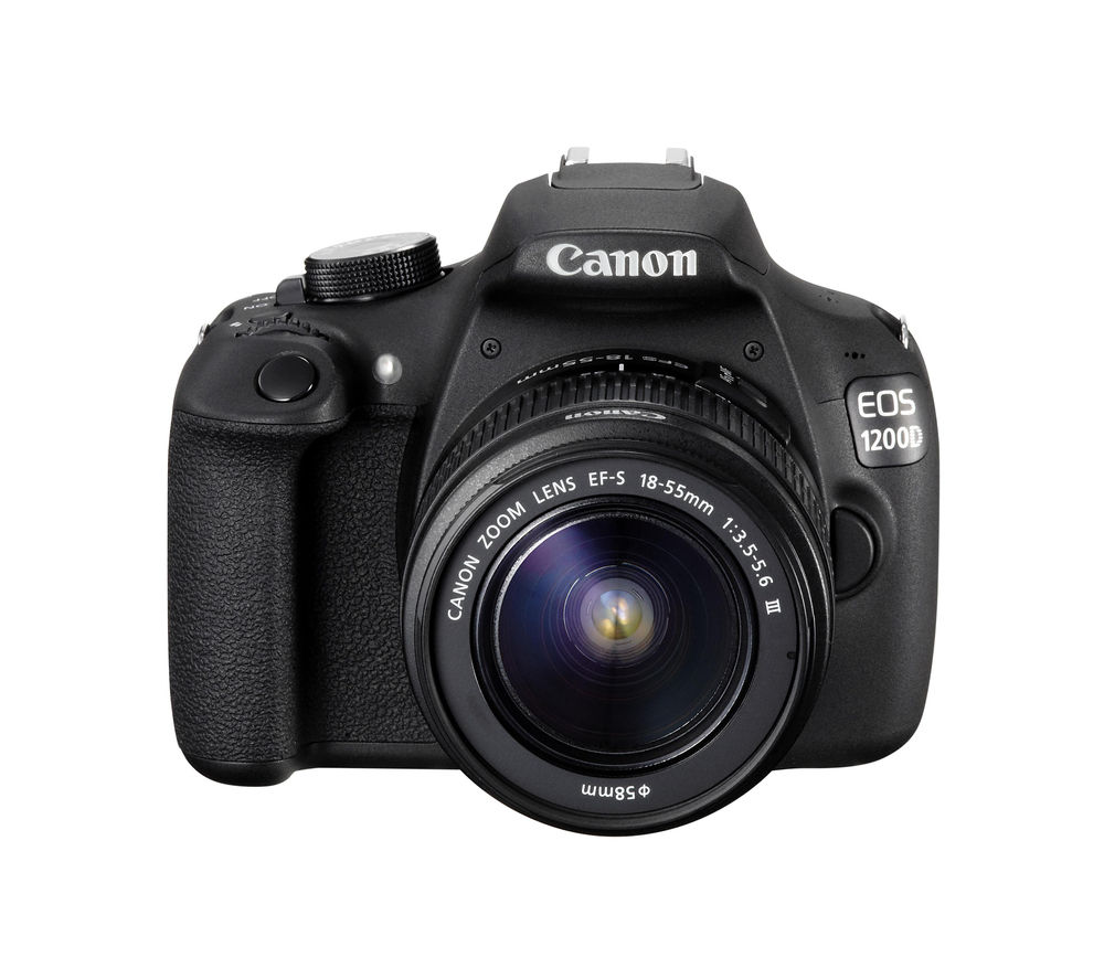 CANON EOS 1200D DSLR Camera with 18-55 mm Telephoto Zoom Lens