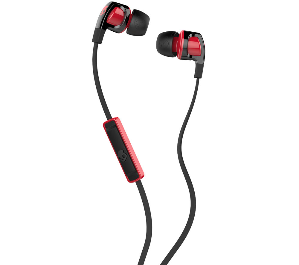 Skullcandy Skullcandy Smokin Buds 2 Headphones  Black & Red Black
