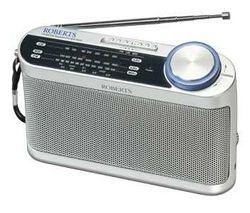 ROBERTS R9993 Portable Analogue Radio - Silver