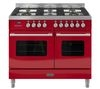 BRITANNIA Delphi RC10TGDERED Dual Fuel Range Cooker - Red