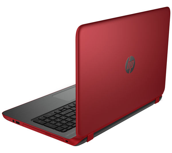 "Hp Pavilion 15p156sa Refurbished 15.6"" Laptop  Red Red"