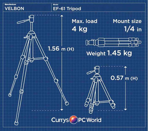 Image of VELBON EF-61 Tripod