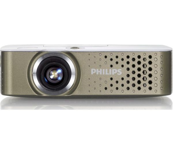Philips picopix ppx3414 portable projector gifts for Handheld projector price