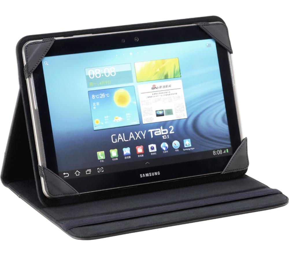 "Logik 7-8"" Universal Tablet Case - Black, Black"