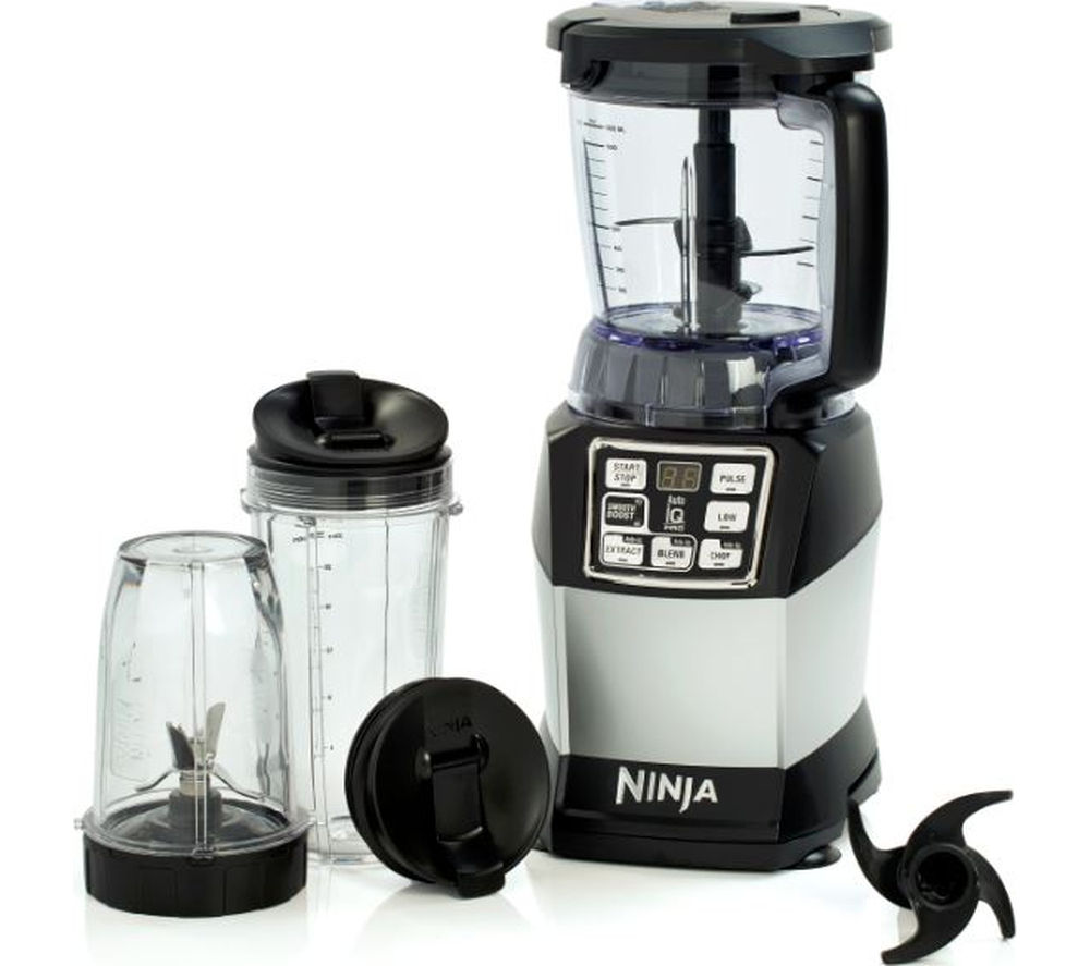 Ninja Nutri Bl682uk Complete Kitchen System Black Grey Black