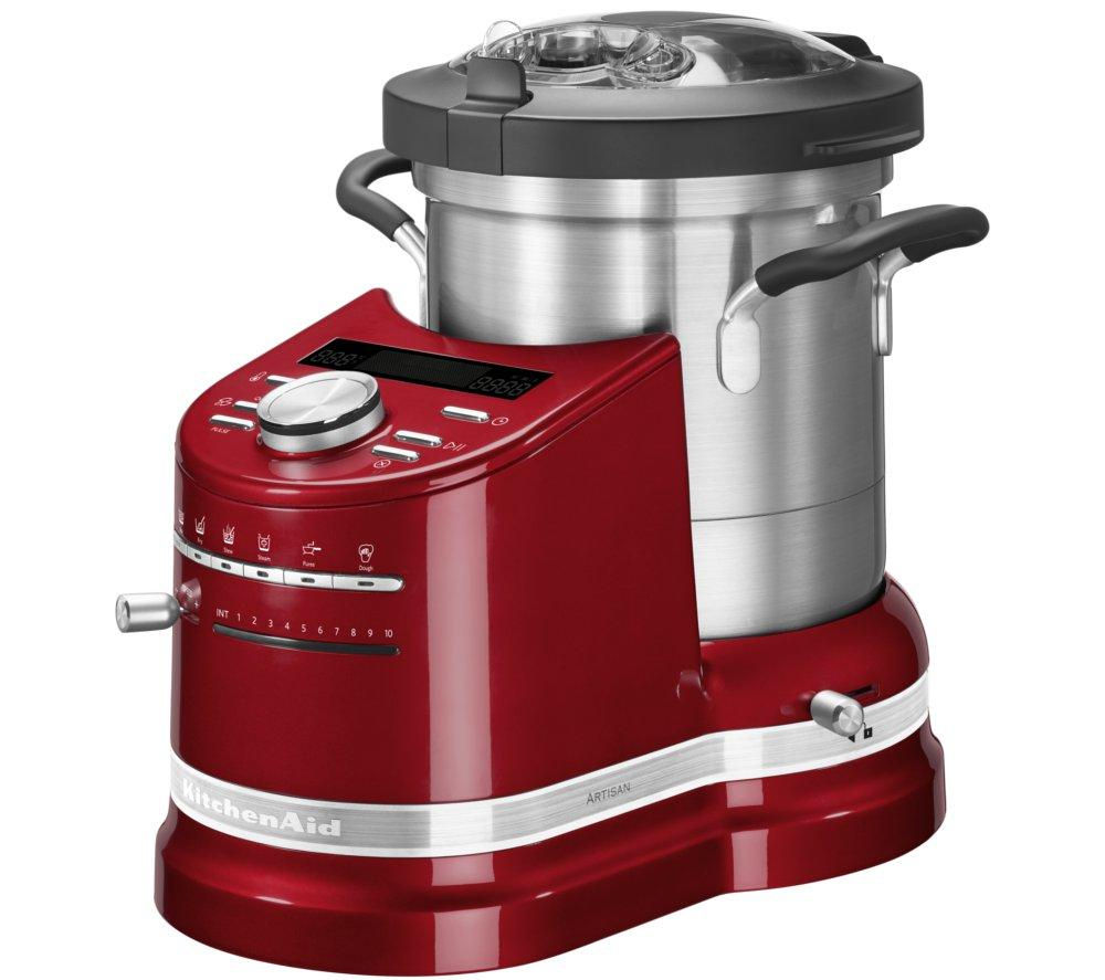 buy kitchenaid artisan cook processor empire red free. Black Bedroom Furniture Sets. Home Design Ideas
