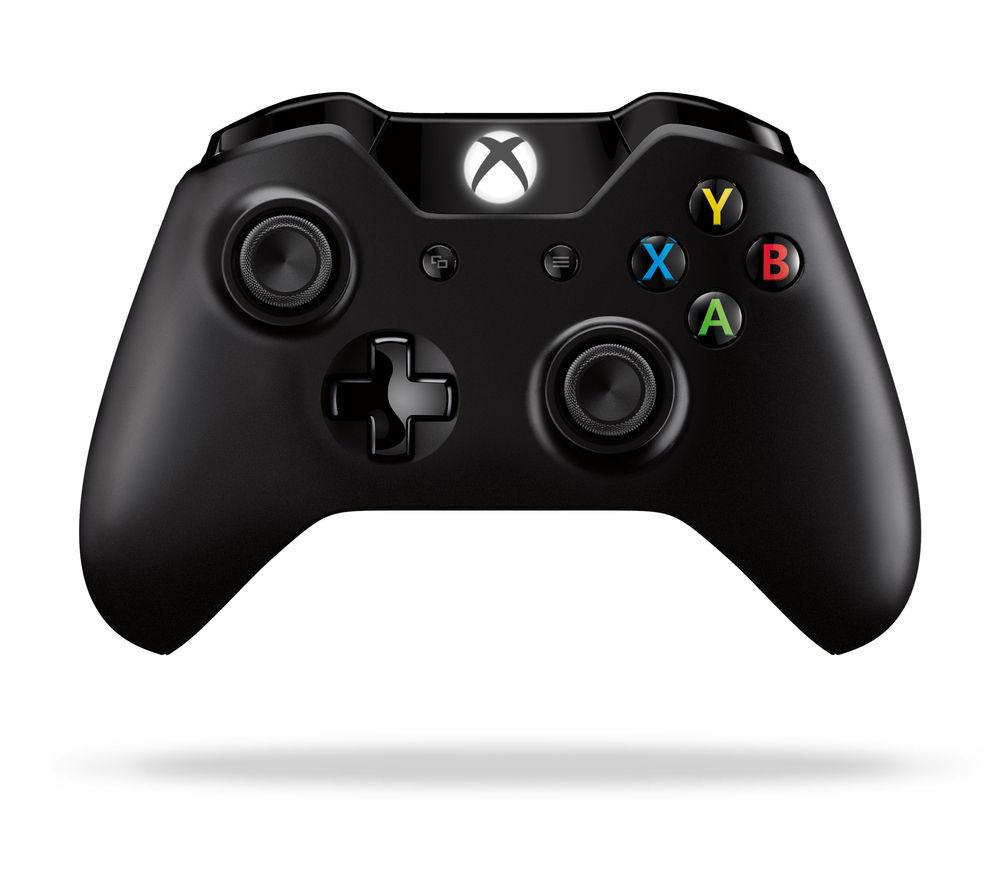 MICROSOFT Xbox One Wireless Gamepad - Black