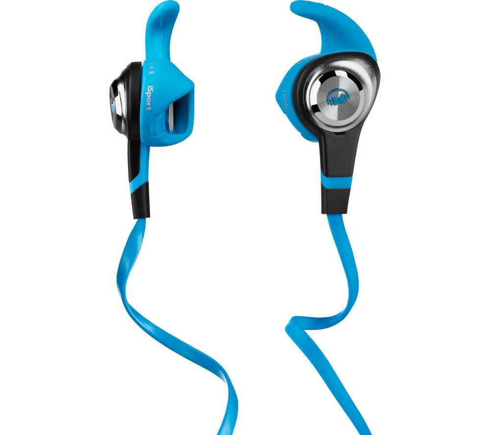 MONSTER iSport v2 Strive Headphones - Blue