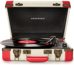 CROSLEY Executive Portable USB Turntable - Red