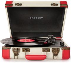 CROSLEY Executive Portable USB Turntable - Red