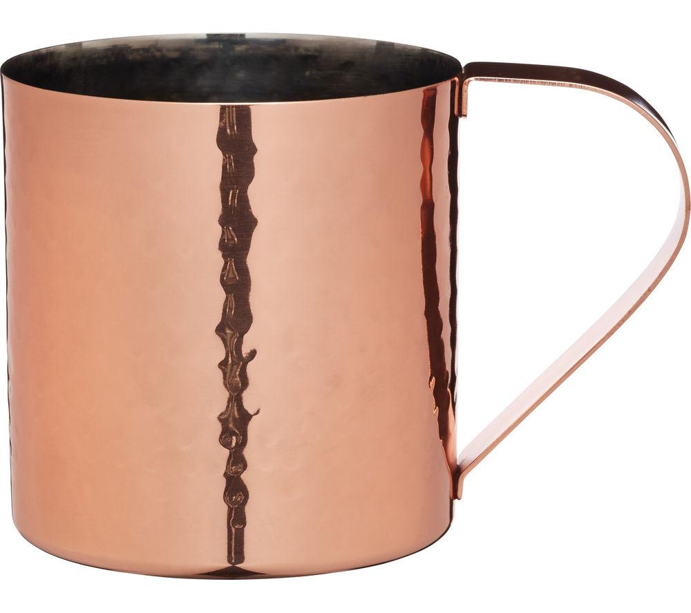 Image of BAR CRAFT Hammered Moscow Mule Mug