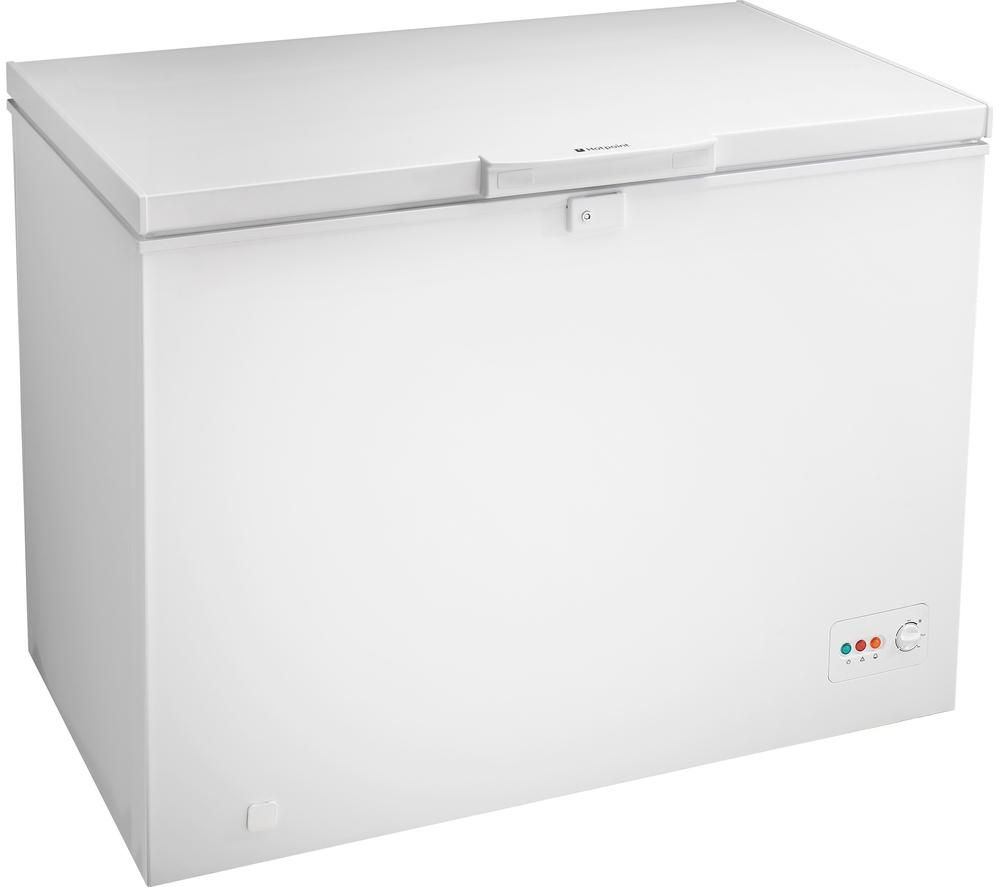 HOTPOINT  CS1A250H Chest Freezer  White White
