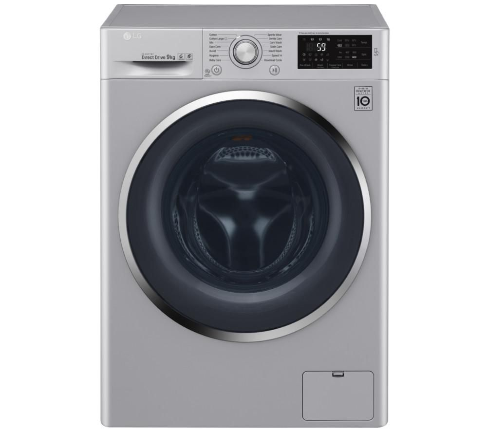 LG FH4U2VCN4 Washing Machine - Silver