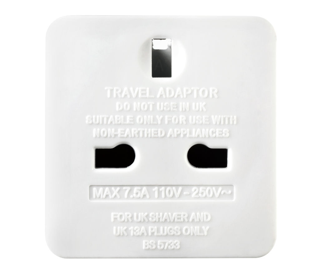 MASTERPLUG TAEUR-MP UK to EU Travel Adapter