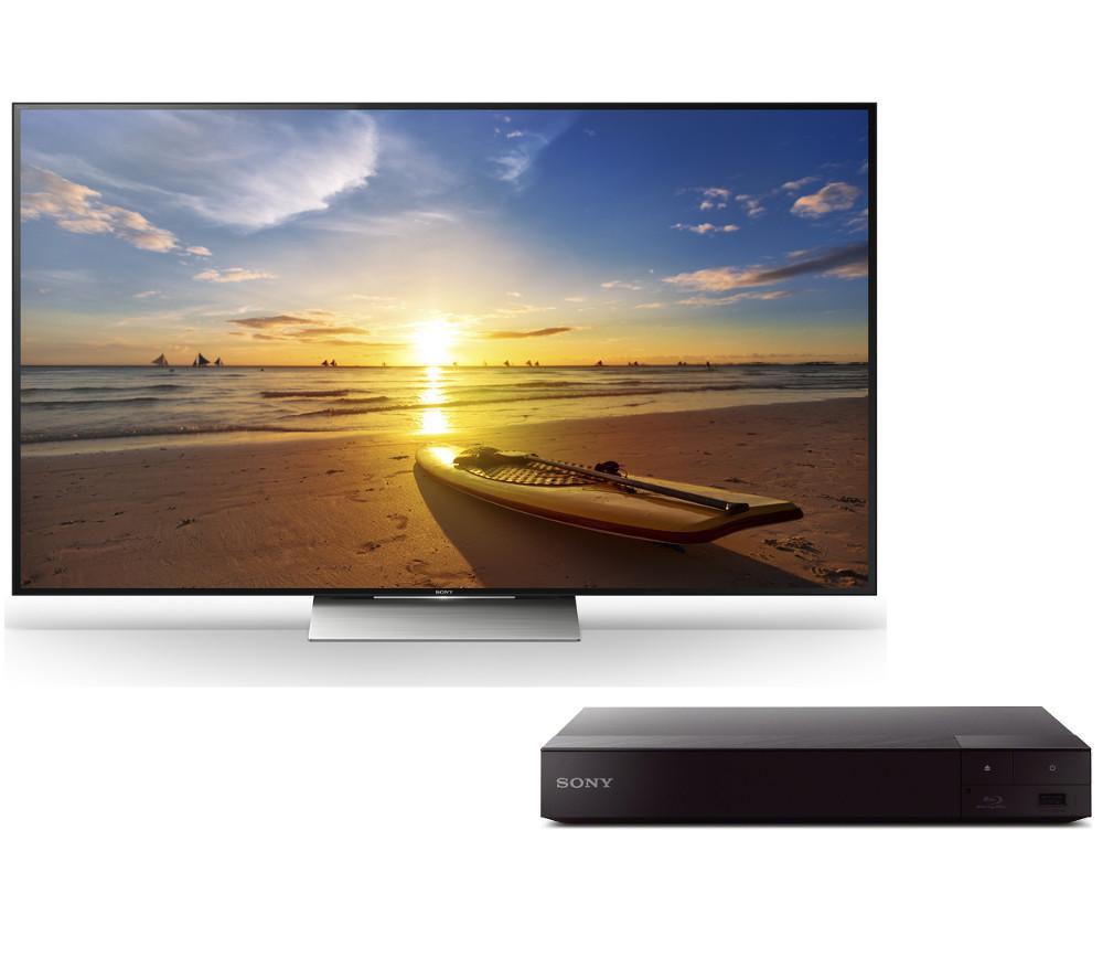 buy sony kd65xd9305bu 4k ultra hd hdr 65 led tv bdp s6700 blu ray player bundle free. Black Bedroom Furniture Sets. Home Design Ideas