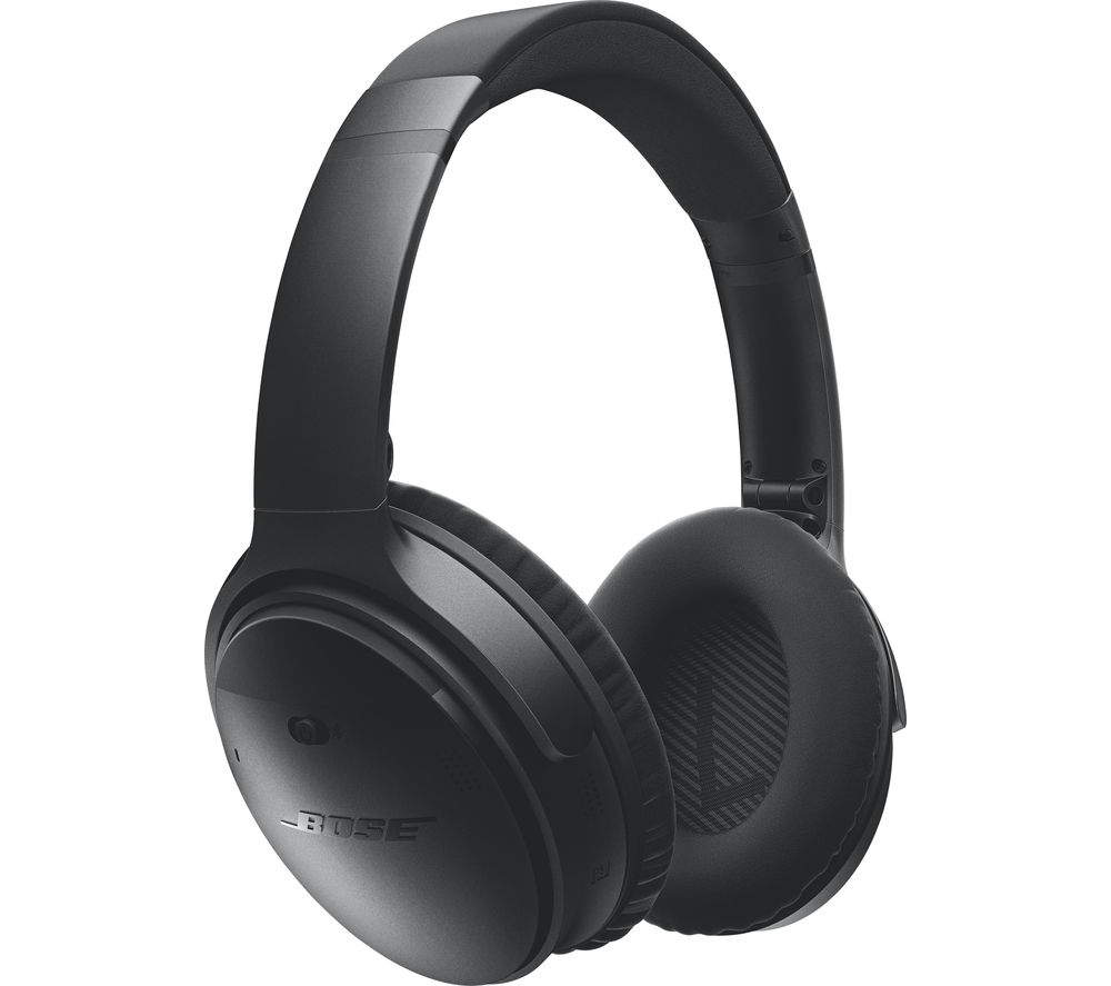 BOSE QuietComfort 35 Wireless Bluetooth Noise-Cancelling Headphones - Black