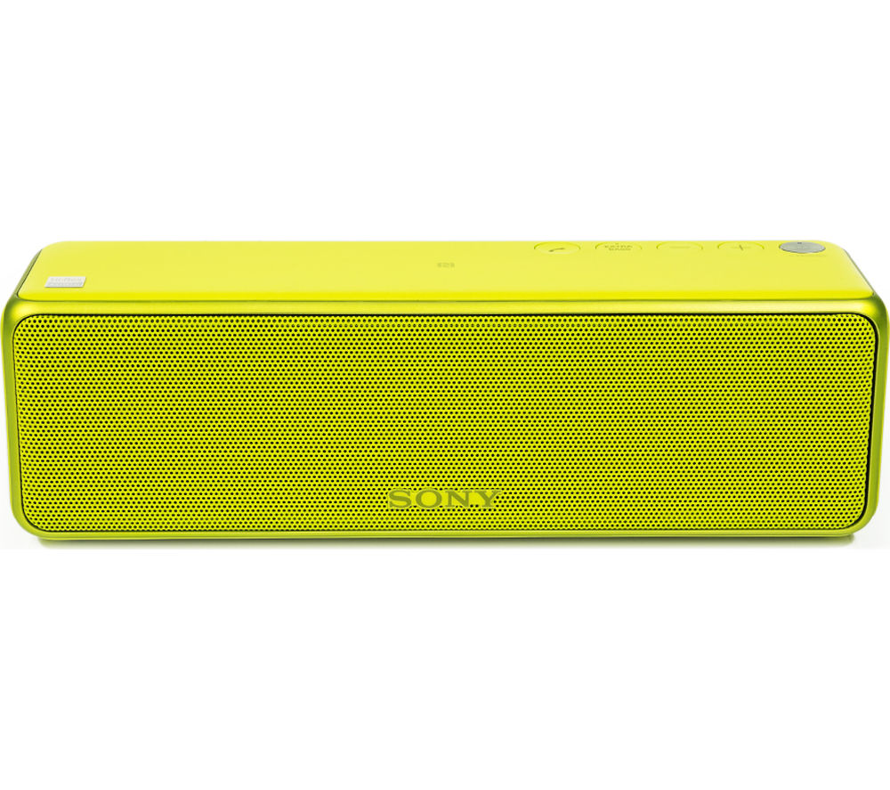 Click to view more of SONY  h.ear go SRS-HG1 Portable Wireless Smart Sound Multi-Room Speaker - Yellow, Yellow