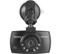 VIVITAR DCM106-BLK Dash Cam - Black