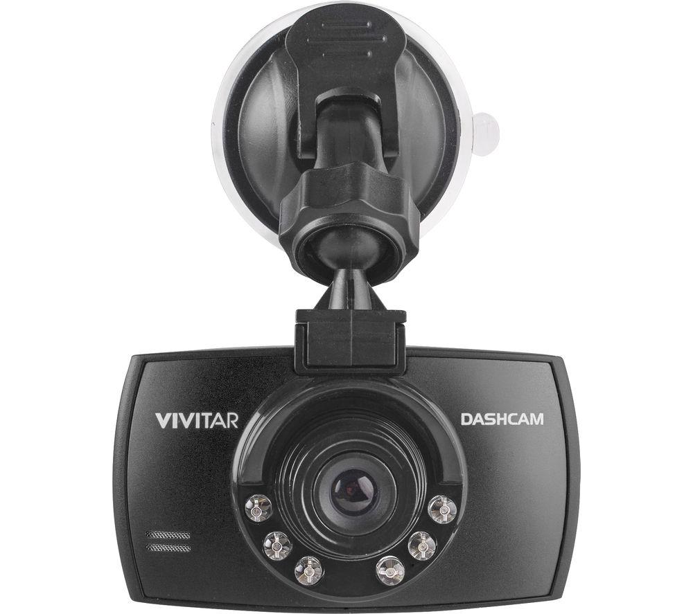 Vivitar DCM106BLK Dash Cam  Black Black