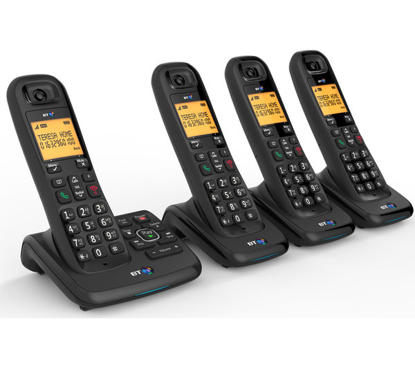 cordless phones with answering machine 3 handsets