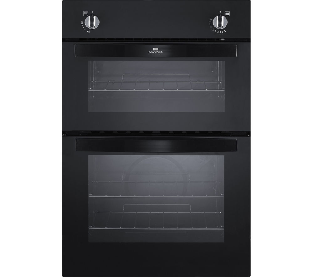 NEW WLD  NW901G Gas Oven  Black Black