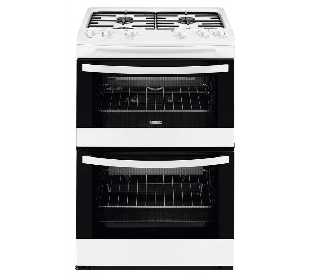 Uncategorized Zanussi Kitchen Appliances buy zanussi zcg63040wa 60 cm gas cooker white free delivery white