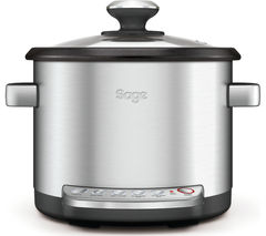 SAGE By Heston Blumenthal Risotto Plus BRC600UK Multicooker - Silver