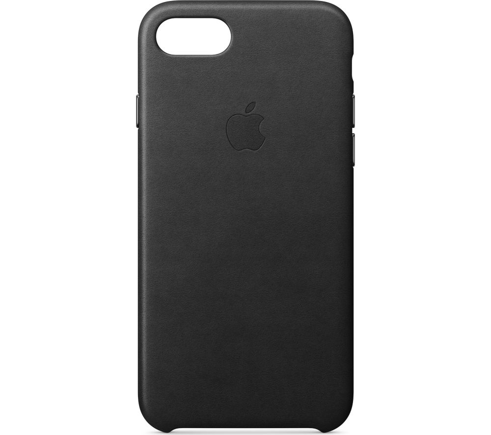 APPLE Leather iPhone 7 Case - Black
