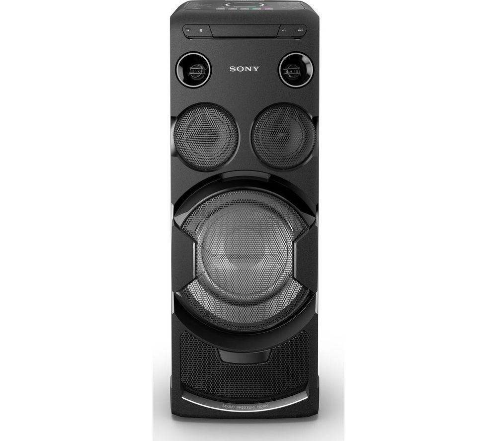 Click to view more of SONY  MHVC-77DW Wireless Megasound Hi-Fi System - Black, Black