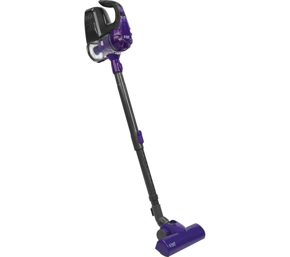 RUSSELL HOBBS  RHCHS1001 Handheld Vacuum Cleaner  Gunmetal Grey & Purple Grey