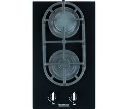 BAUMATIC BGG32 Gas Hob - Black Glass