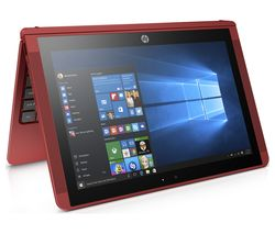 "HP x2 10-p057na 10.1"" Touchscreen 2 in 1 - Red"