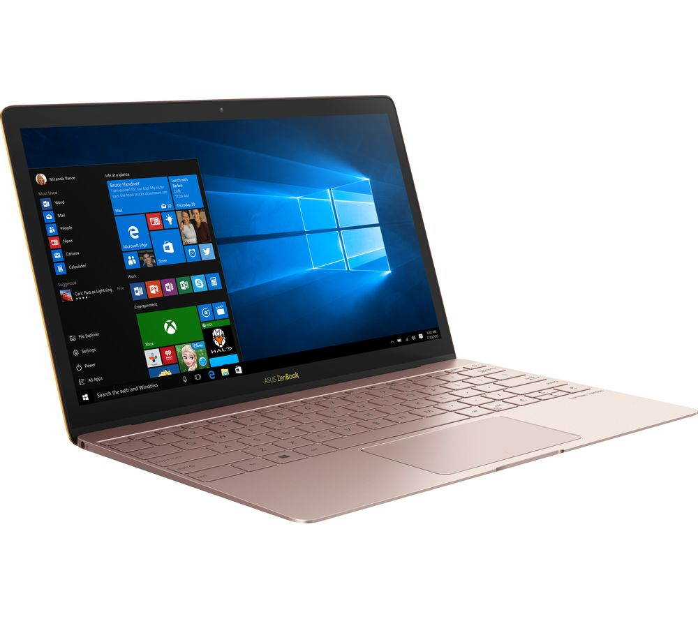 asus zenbook 3 ux390 12 5 laptop rose gold deals pc world. Black Bedroom Furniture Sets. Home Design Ideas
