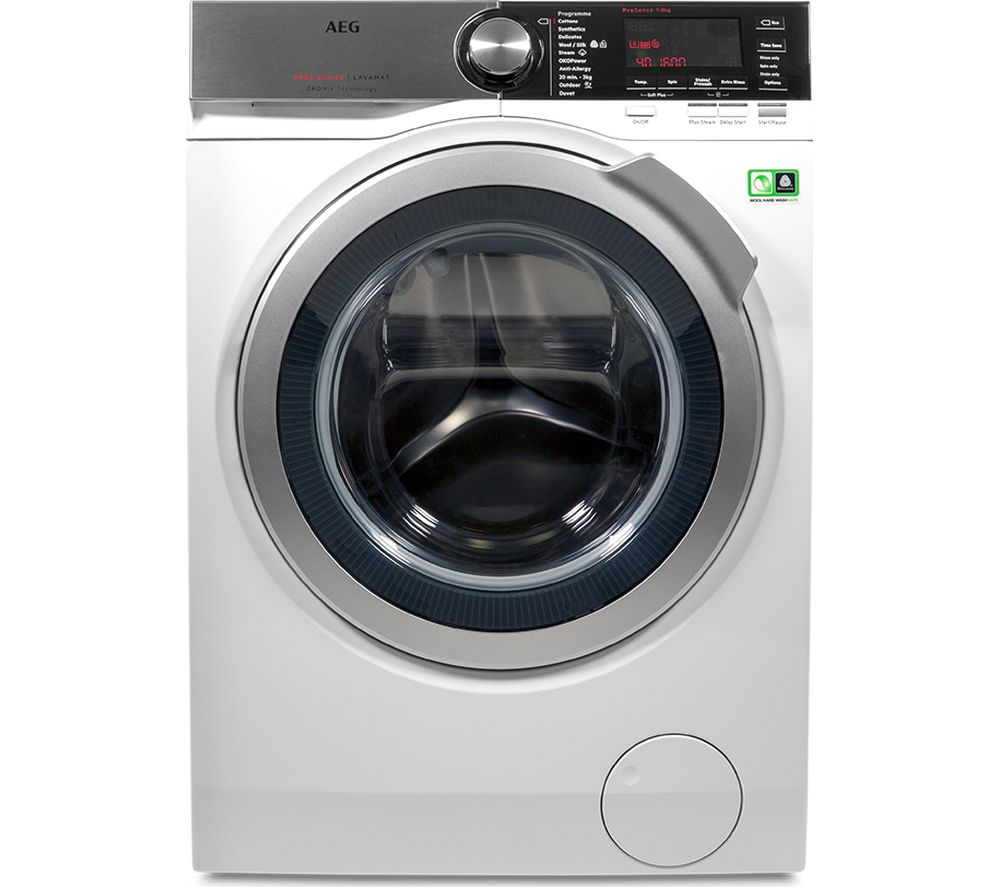 AEG OkoMix L8FEC866R Washing Machine  White White