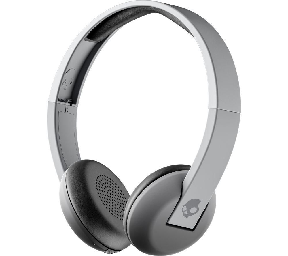 SKULLCANDY Uproar S5URW-K609 Wireless Bluetooth Headphones - Grey