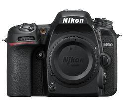NIKON D7500 DSLR Camera - Black
