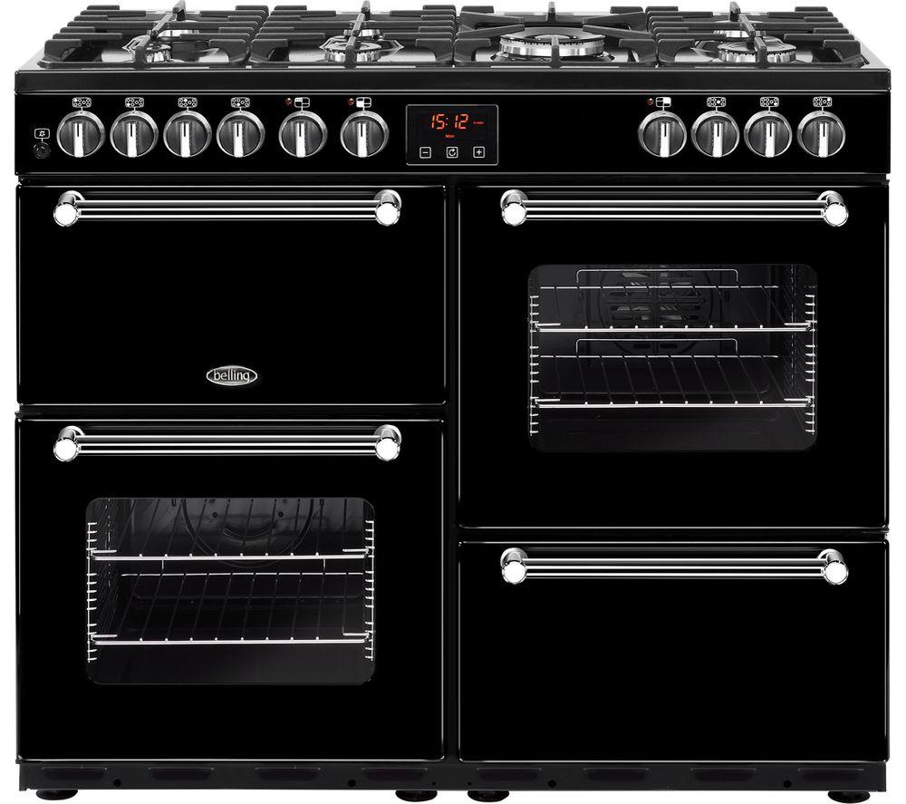 buy belling kensington 100dft dual fuel range cooker. Black Bedroom Furniture Sets. Home Design Ideas