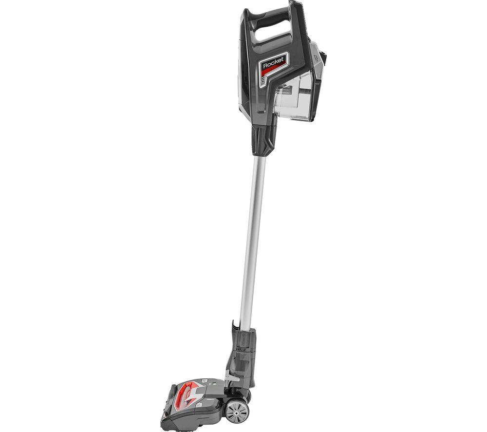shark rocket hv380uk upright bagless vacuum cleaner grey