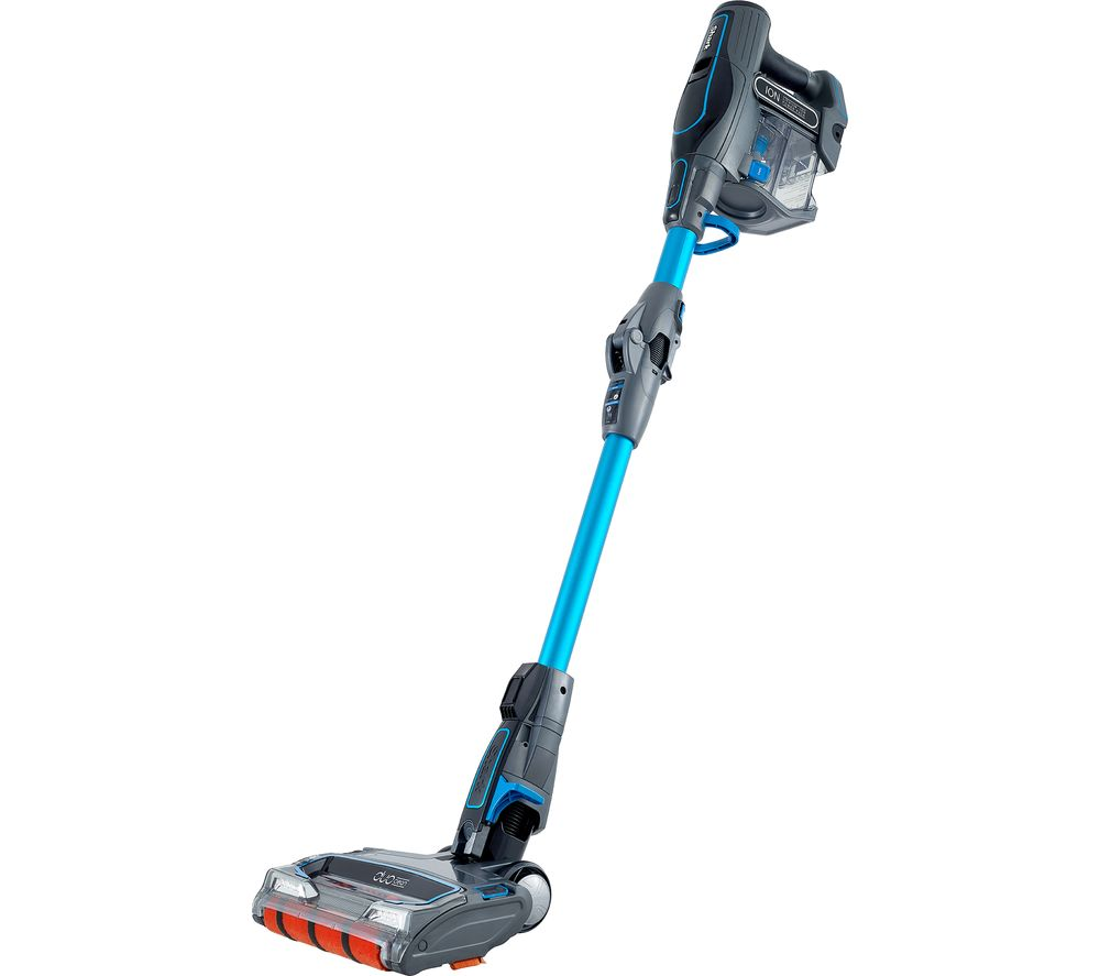 Includes Shark Rotator Powered Lift-Away Speed 3-in-1 Vacuum with motorized floor nozzle, duster crevice tool, pet multi tool, pet power brush, under-appliance wand, dust-away pro cleaner head with one microfiber pad, and canister caddy.