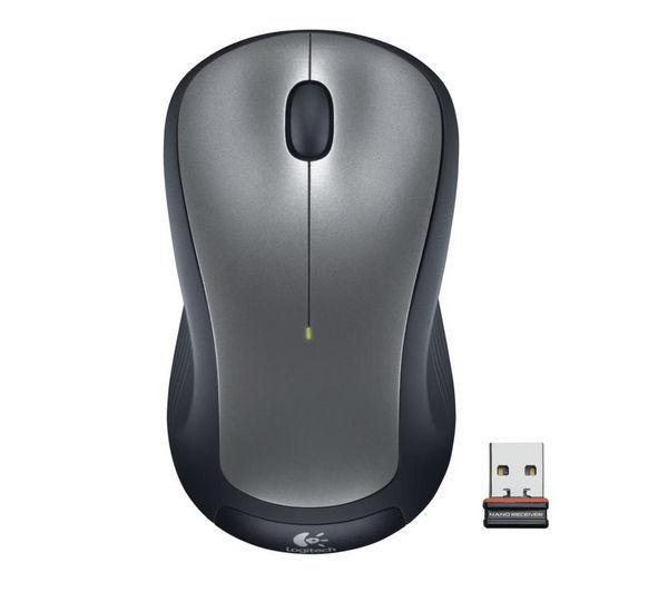 Image of LOGITECH M310 Wireless Laser Mouse - Silver & Black