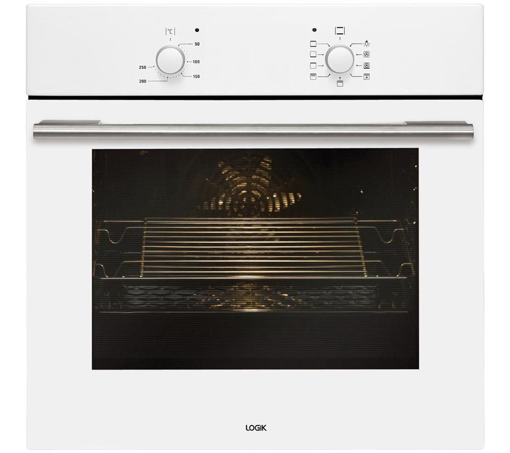 Image of Logik LBFANW14 Electric Oven - White, White