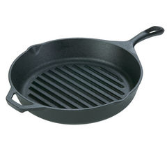 EDDINGTONS Lodge 17L8GP3 26 cm Frying Pan - Black