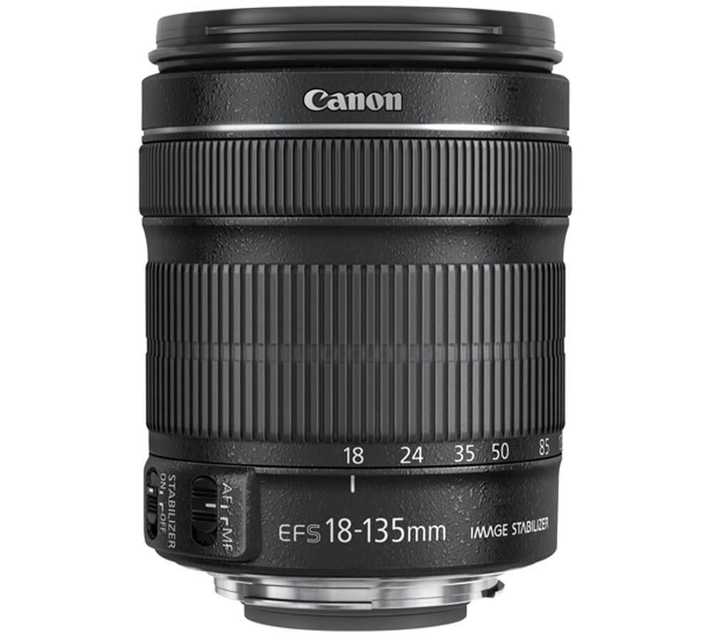 CANON EF-S 18-135 mm f/3.5-5.6 IS STM Zoom Lens