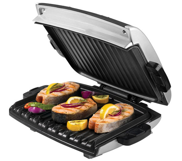 Health grills cheap health grills deals currys - Buy george foreman grill ...